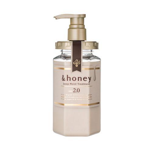 &honeyのディープモイスト トリートメント2.0 ラベンダーハニーの香り 445gに関する画像1