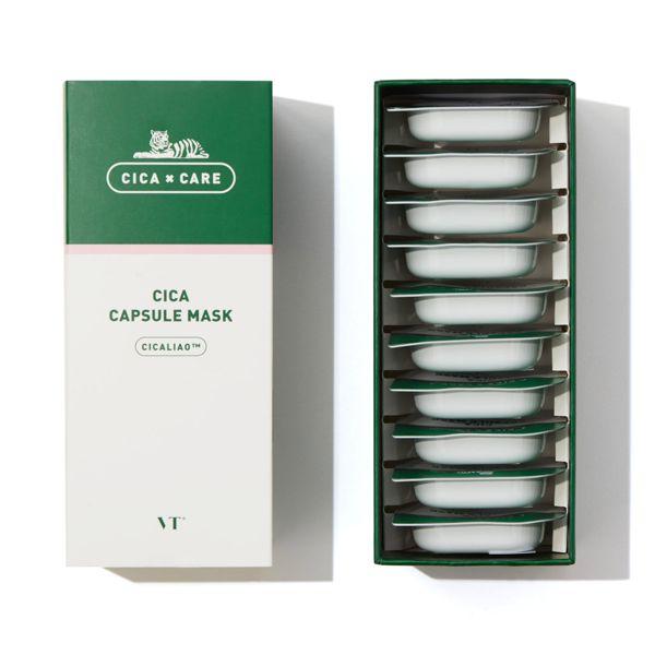 VT cosmeticsのCICAカプセルマスク 10パック入りに関する画像1