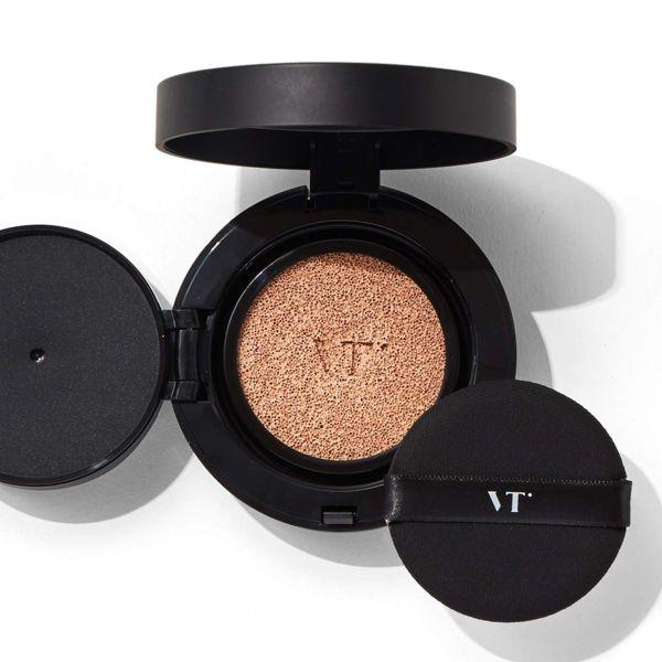 VT cosmeticsのブラックフィックスオンCCクッション 21 アイボリー 12g SPF22 PA++に関する画像1