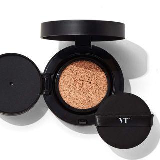 VT cosmetics ブラックフィックスオンccクッション 23 ベージュ 12g SPF22 PA++の画像