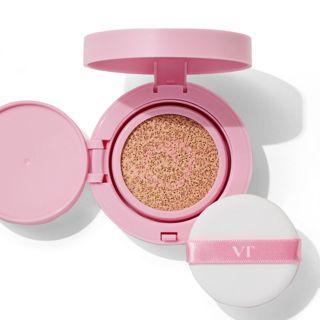 VT cosmetics ツートーンクッション 21 ライトベージュ 12gの画像