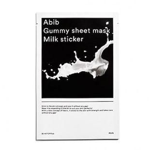 Abib グミ シートマスク ミルクステッカー 10枚入り の画像 0
