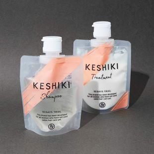 KESHIKI ケシキのはじまり シャンプー100ml/トリートメント100g の画像 0