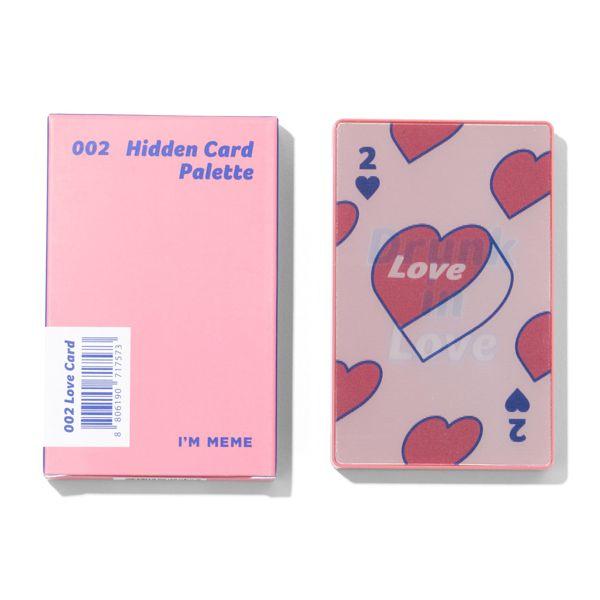 アイムミミのアイムヒドゥンカードパレット 002 ラブカード 【韓国版】 8gに関する画像1