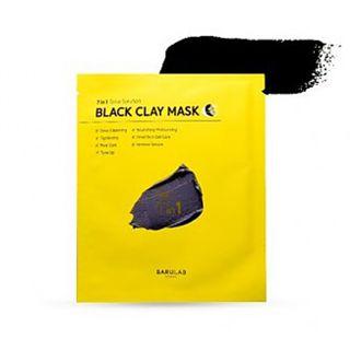 バルラボ ブラック クレイ マスク 18gの画像