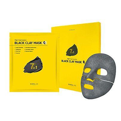 バルラボのブラック クレイ マスク 18g×5枚に関する画像1