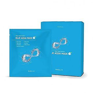 バルラボ ブルー アクア マスク 10枚入りの画像