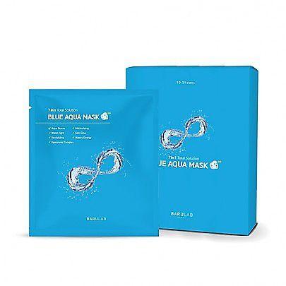 バルラボのブルー アクア マスク 30g×10枚に関する画像1