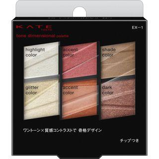 ケイト トーンディメンショナルパレット EX-1 レッドブラウン系 6.8gの画像