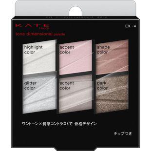 ケイト トーンディメンショナルパレット EX-4 ライトピンク系 6.8g の画像 0