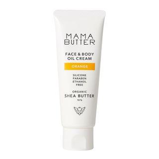 ママバター フェイス&ボディオイルクリーム オレンジの香り 60gの画像