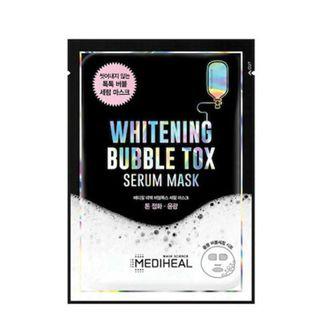 メディヒール ホワイトニングバブルトックスセラムマスクパック 3枚セットの画像
