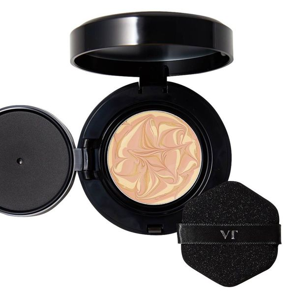 VT cosmeticsのプログロスコラーゲンパクト BLACK21 アイボリー 11g SPF50+ PA++++に関する画像1