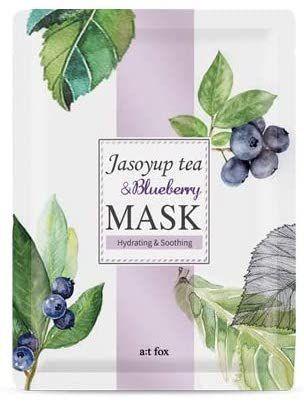 a;t fox シソの葉茶&ブルーベリーマスク 20mlの画像