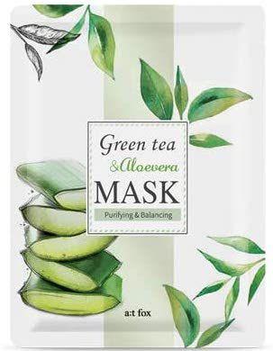 a;t fox 緑茶&アロエベラマスク 20mlの画像