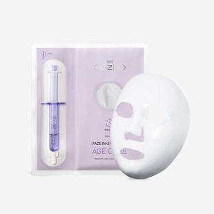 THE OOZOO フェイスインショットマスク エイジキュア マスク27ml+アンプル2.8ml の画像 0