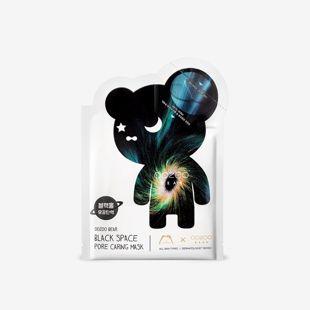 THE OOZOO ベアブラックスペースポアケアマスク マスク24ml+アンプル3ml の画像 0