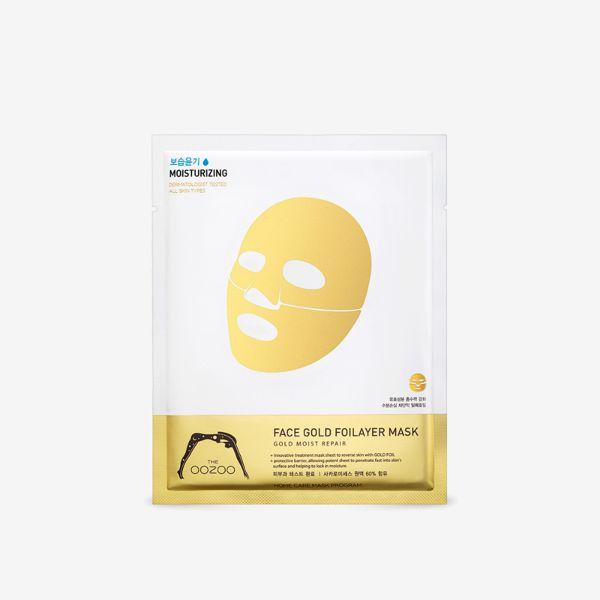 THE OOZOOのフェイスゴールドフォイレイヤーマスク 25mlに関する画像1