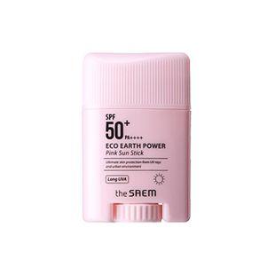 ザ セム エコアースパワー ピンク サン スティック 16g SPF50+ PA++++ の画像 0