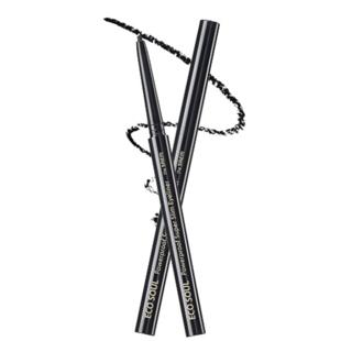 ザ セム エコソウル パワープルーフ スーパースリムアイライナー BK01 ナイト ブラック 0.1g の画像 0