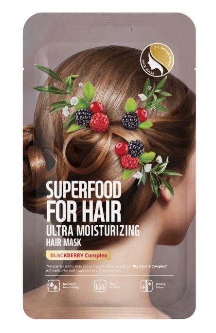 FARMSKINのスーパーフードファーヘア ウルトラモイスチャーライジングヘアマスク 40gに関する画像1