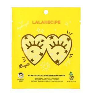 LALARECIPE ハートゴーグルブライトニングマスク 1枚入り の画像 0