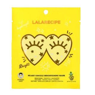 LALARECIPE ハートゴーグルブライトニングマスク 1枚入りの画像
