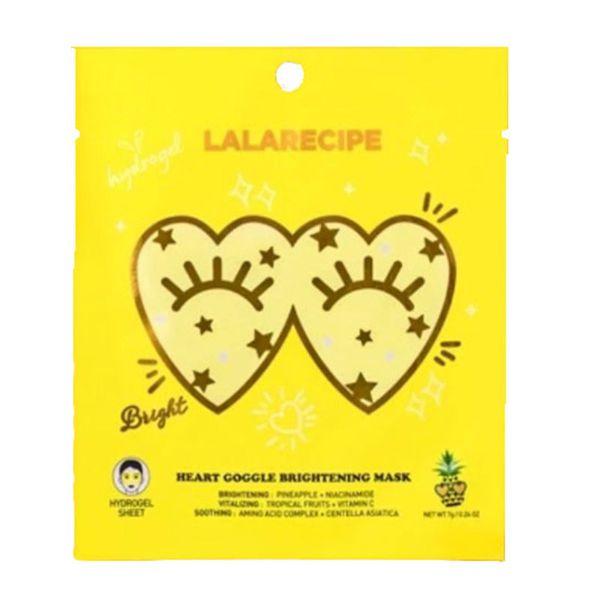 LALARECIPEのハートゴーグルブライトニングマスク 1枚入りに関する画像1