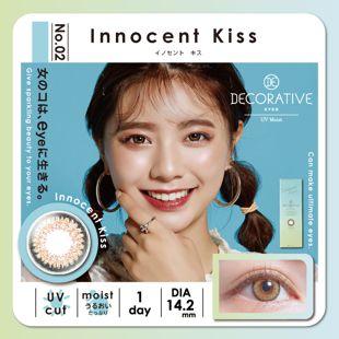 デコラティブアイズ デコラティブアイズ ワンデー UVモイスト 10枚/箱 (度なし) No.02 イノセント キス の画像 0
