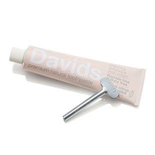 Davids ホワイトニングトゥースペースト ハーバルシトラスミント 149g(チューブ絞り付き) の画像 0