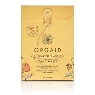 ORGAID オーガエイド エッセンスクリアマスクBOX 24ml×4枚 の画像 0