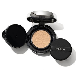 ミシャ ミシャ M クッション ファンデーション 21 ネオカバー/明るい肌色 15g SPF50+ PA+++ の画像 0