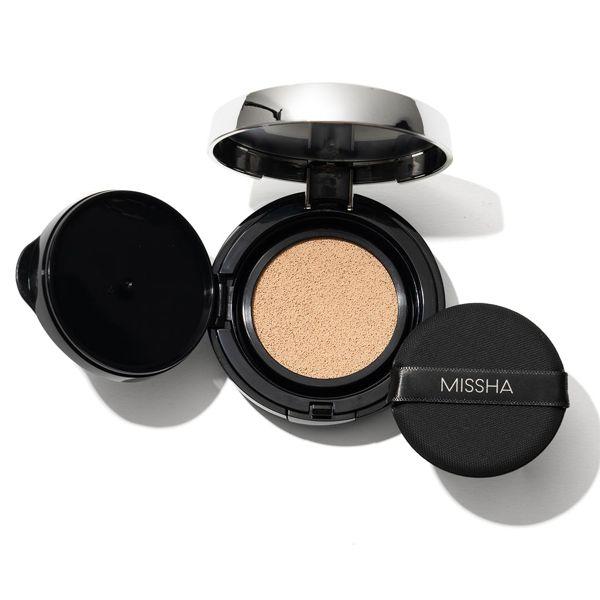 ミシャのミシャ M クッション ファンデーション 21 明るい肌色 ネオカバー 15g SPF50+ PA+++に関する画像1