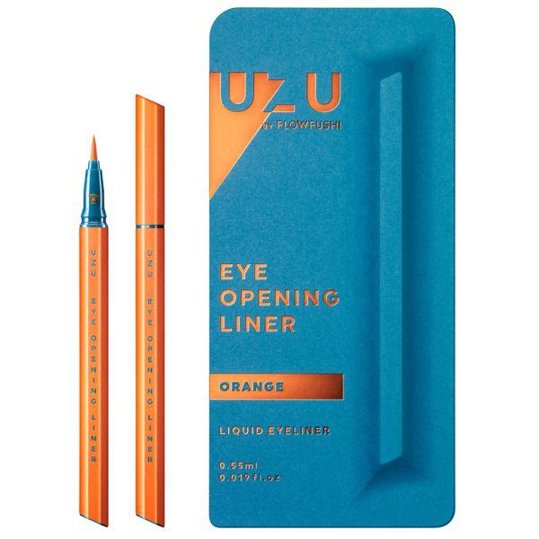 UZU BY FLOWFUSHIのアイオープニングライナー オレンジ 0.55mlに関する画像1