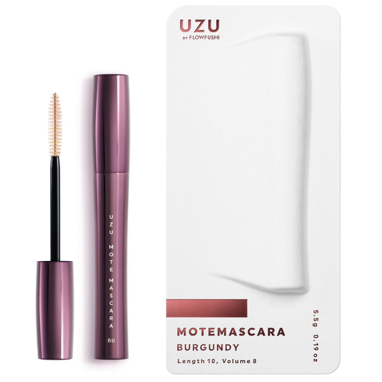 UZU BY FLOWFUSHI MOTE MASCARA COLOR BURGUNDY 5.5gのバリエーション2