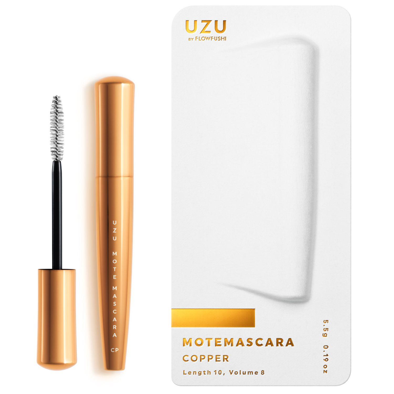 UZU BY FLOWFUSHI MOTE MASCARA COLOR COPPER 5.5gのバリエーション4