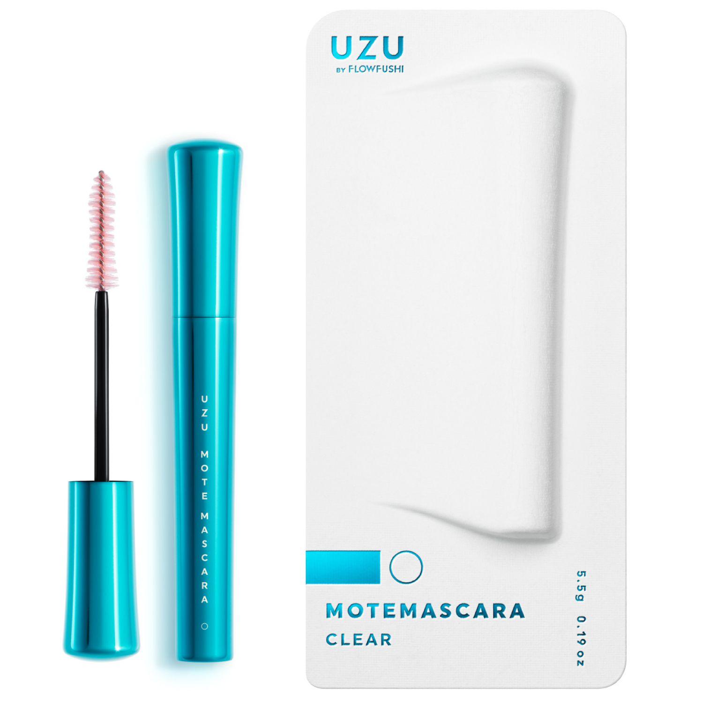 UZU BY FLOWFUSHI MOTE MASCARA CLEAR クリアー 5.5gのバリエーション7