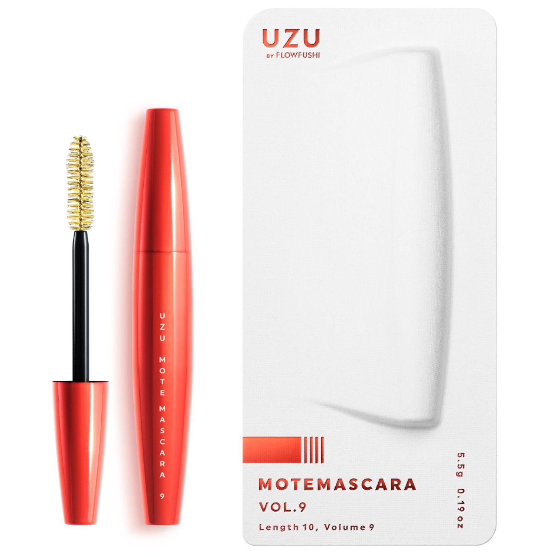 UZU BY FLOWFUSHI MOTE MASCARA VOL.9 ブラック 5.5gのバリエーション8