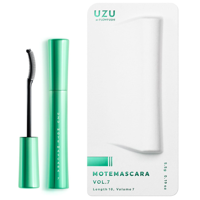 UZU BY FLOWFUSHI MOTE MASCARA VOL.7 ブラック 5.5gのバリエーション9