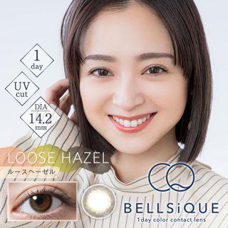 BELLSiQUE ベルシーク ワンデー UV 10枚/箱 (度なし) ルースヘーゼルの画像