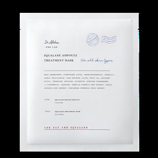 Dr.Althea スクワラン アンプル トリートメント マスク マスク27g×5枚+アンプル2ml×5本の画像