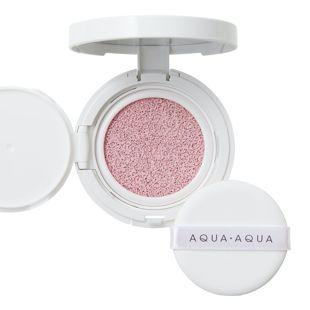 アクア・アクア オーガニッククッションコンパクト カラーベース ピンク(トーンアップ) 9g SPF13 PA++ の画像 0