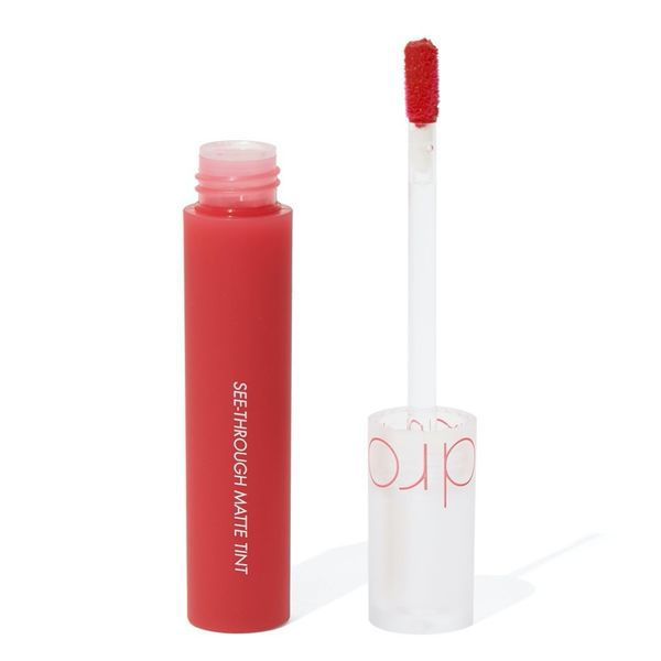 rom&nd SEE-THROUGH MATTE TINT 04 RED CHAINのバリエーション4