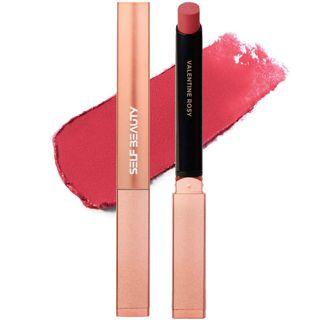SELF  BEAUTY ビューティチュードシアマットリップ スティックカラー 203 バレンタイン ロージー 0.9gの画像
