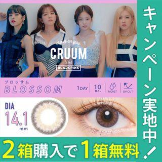 CRUUM クルーム ワンデー UV 10枚/箱(度なし) ブロッサムの画像