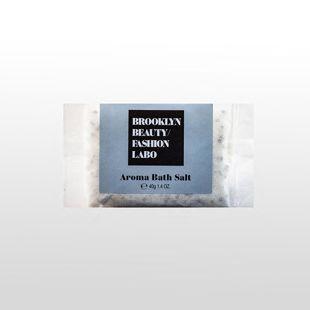 ブルックリンビューティーファッションラボ アロマバスソルト グレー 40g の画像 0