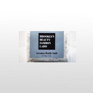 ブルックリンビューティーファッションラボ アロマバスソルト グレー 40gの画像