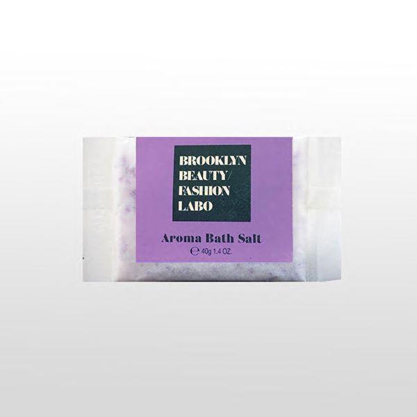 ブルックリンビューティーファッションラボのアロマバスソルト パープル 40gに関する画像1