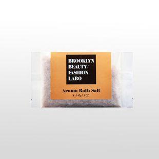 ブルックリンビューティーファッションラボ アロマバスソルト オレンジ 40g の画像 0