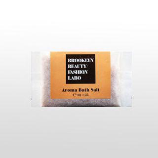 ブルックリンビューティーファッションラボ アロマバスソルト オレンジ 40gの画像